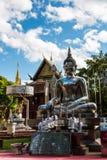 Buddhastaty i Chiang Mai, Thailand Royaltyfri Bild
