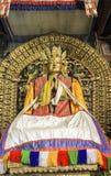 Buddhastaty i den Kharkhorin Erdenzuu kloster, Mongoliet Royaltyfria Bilder