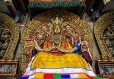 Buddhastaty i den Kharkhorin Erdenzuu kloster, Mongoliet Royaltyfri Bild