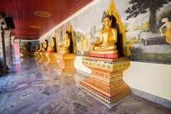 Buddhastaty i Doi Suthep Chiang Mai, Thailand Arkivfoto
