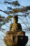 Buddhastaty i Japan Arkivfoton
