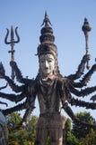 Buddhastaty i Sala Kaew Ku royaltyfri bild