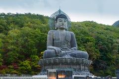 Buddhastaty i Sydkorea Arkivbilder