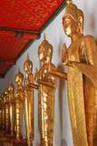 Buddhastaty i watpho Royaltyfria Bilder