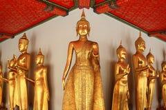 Buddhastaty i watpho Royaltyfri Foto