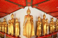 Buddhastaty i watpho Arkivbilder