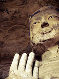 Buddhastaty Kina Arkivfoto