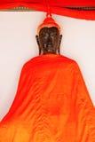 Buddhastaty och thai konstarkitektur Arkivbilder
