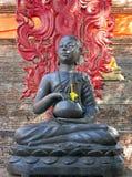 Buddhastaty på den Wat Lok Molee templet, Chiang Mai, Thailand royaltyfri bild