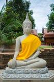 Buddhastaty på templet bangkok Thailand Royaltyfri Foto