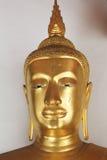 Buddhastaty på Wat Phra Chetuphon Arkivbilder