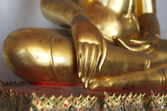 Buddhastaty på Wat Phra Chetuphon Arkivfoton