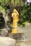 Buddhastaty på Wat Sraket Rajavaravihara, Thailand Royaltyfri Bild