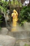 Buddhastaty på Wat Sraket Rajavaravihara, Thailand Royaltyfria Foton