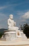 Buddhastaty, Thailand Arkivfoto