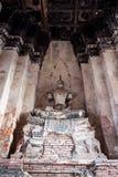 Buddhastaty utan huvudet - Ayutthaya, Thailand Arkivfoto
