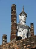 Buddhastaty, watmahathat Royaltyfria Foton