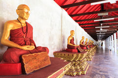 Buddhastatyer Arkivfoto