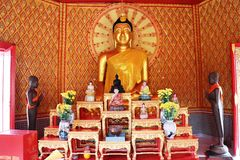 Buddhastatyer Royaltyfri Fotografi