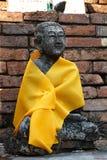 Buddhastatyer arkivbilder