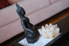 Buddhastatyett Royaltyfria Bilder