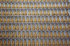 Buddhastatyett, Kek Lok Si Temple, Penang, Malaysia arkivbilder