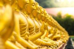 BuddhastatyNakhon Nayok landskap Royaltyfri Fotografi