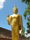 Buddhastatyställning Royaltyfri Foto