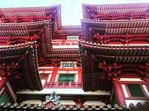 Buddhatandtempel Royaltyfri Foto