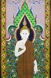Buddhateckning Royaltyfria Bilder