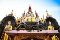 Buddhatempel Royaltyfria Bilder