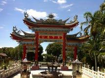 Buddhatempel, Bintulu, Sarawak, Borneo ö Royaltyfri Bild