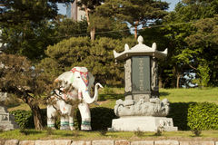 Buddhatempel i Korea Royaltyfri Fotografi