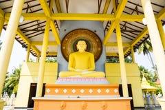 Buddhatempel på Sri Lanka, Ceylon fotografering för bildbyråer