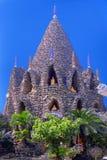 Buddhatempel som byggs från havskorall Royaltyfri Fotografi