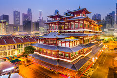 BuddhaTooth Relic Temple of Singapore Stock Photos