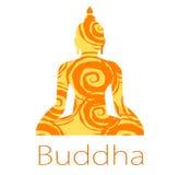 Buddhavektor Royaltyfri Foto