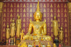 Buddhawatmutor av louangprabang Royaltyfri Foto