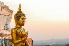 Buddhish statue Royalty Free Stock Photo