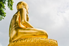 Buddhism. Buddha image, thai art in the temple royalty free stock photography