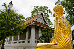 Buddhism. Buddha image, thai art in the temple royalty free stock photos