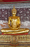Buddhism. Buddha image, thai art in the temple stock photo