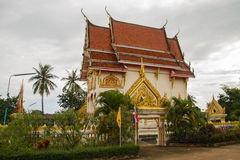 Buddhism church. In Thai temple Stock Photo