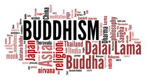 Buddhism culture Stock Photography