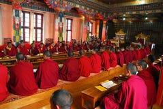 Buddhism en la India Imagen de archivo