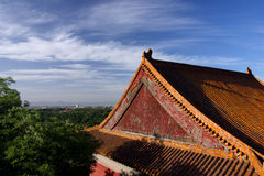 Buddhism Four Continent. This is one main building of Buddhism Four Continent. It stands on the back slope of the WanShou Hill in Summer Palace in Beijing China Stock Photography