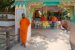 Buddhism in India Royalty Free Stock Photo
