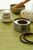 Buddhism Meditation Setting Stock Image