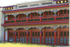 Buddhism Monastery of Mongolia Stock Photography