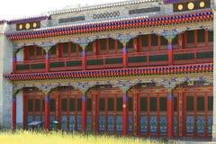 Buddhism Monastery of Mongolia Stock Photography